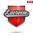 Premium symbol of Lacrosse label vector image vector image