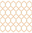 quatrefoil gold lines seamless pattern oriental vector image vector image