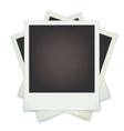 set photo frames vector image vector image