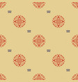 traditional norway style seamless knitting pattern vector image