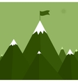 a mountain vector image