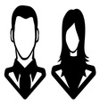 Businessman icon call centar6 resize vector image