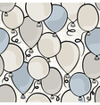 Colorful balloons background vector image vector image