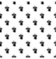finger touch pattern seamless vector image