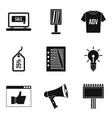 online buy icons set simple style vector image vector image