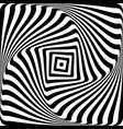 op art design vector image vector image