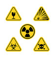 warning icon design vector image