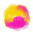 watercolor background2 vector image vector image