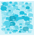 background speech bubbles vector image