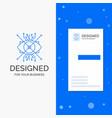 business logo for ar augmentation cyber eye lens vector image vector image