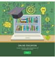 Concept of education vector image