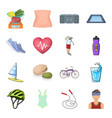 diet and active rest and other web icon in cartoon vector image vector image