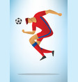 football player 28 vector image vector image