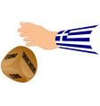 greece euro drachma vector image vector image
