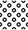 seamless pattern black white rings vector image vector image
