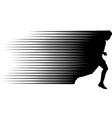 sprinter vector image