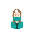 surgeon avatar vector image vector image