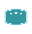 template emblem blank best quality vector image