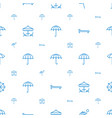 umbrella icons pattern seamless white background vector image vector image
