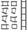 film tape set vector image