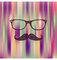 Colorful Hipster blurred background vector image vector image