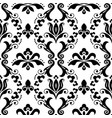 damask seamless textile or farbic pattern vector image vector image
