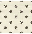 Football pattern vector image vector image