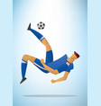 football player 32 vector image vector image