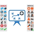 Health Strategy Icon vector image