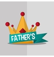 Icon of fathers day design vector image vector image