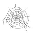 spider creepy web icon corner hanging network vector image vector image