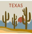 Texas t-shirt design vector image