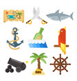 Treasures pirate adventures toy accessories icons