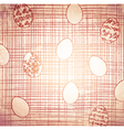 Vintage Easter vector image vector image