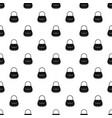 woman bag pattern vector image