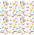 a seamless party background vector image