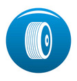 disk icon blue vector image vector image