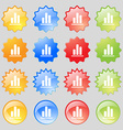 Growth and development concept graph of Rate icon vector image vector image