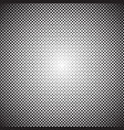 halftone background radial gradient dots vector image