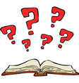 mystery book vector image