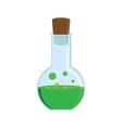 Green potion vector image