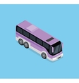 Isometric Bus Icon vector image vector image