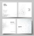 The layout of two covers templates for