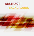 abstract red and yellow geometric overlapping vector image vector image