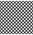 chain-link geometric black on white seamless vector image vector image