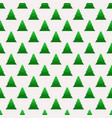 christmas seamless pattern with geometrical vector image vector image