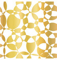 gold foil abstract background intersecting vector image