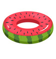 swimming circle for summer kid fun on water vector image