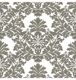 Vintage Imperial Baroque ornament pattern vector image