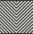stripes seamless pattern chevron black texture vector image